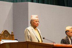 संसद बैठकको अध्यक्षता गर्दै नेपा: पार्टीका लक्ष्मण राजवंशी