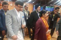वर्तमान समयमा भारतीय विदेशमन्त्री सुष्मा स्वराजको नेपाल भ्रमण हुनुलाई तपाई के भन्नुहुन्छ ?