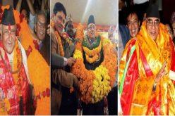 सामाजिक अभियान – नेपाली राजनीतिको बिकृति नेताहरुलाई माला, खादालगाईदिने प्रचलन रोक्नैपर्छ ?