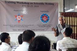 रिकास्टमा बैज्ञानिक लेखन प्रशिक्षण कार्यशाला शुरु
